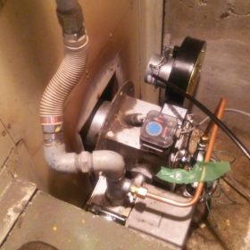 細山熱器バーナー